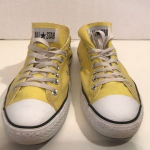 Converse Yellow Sneakers Men's 10 Women's 12
